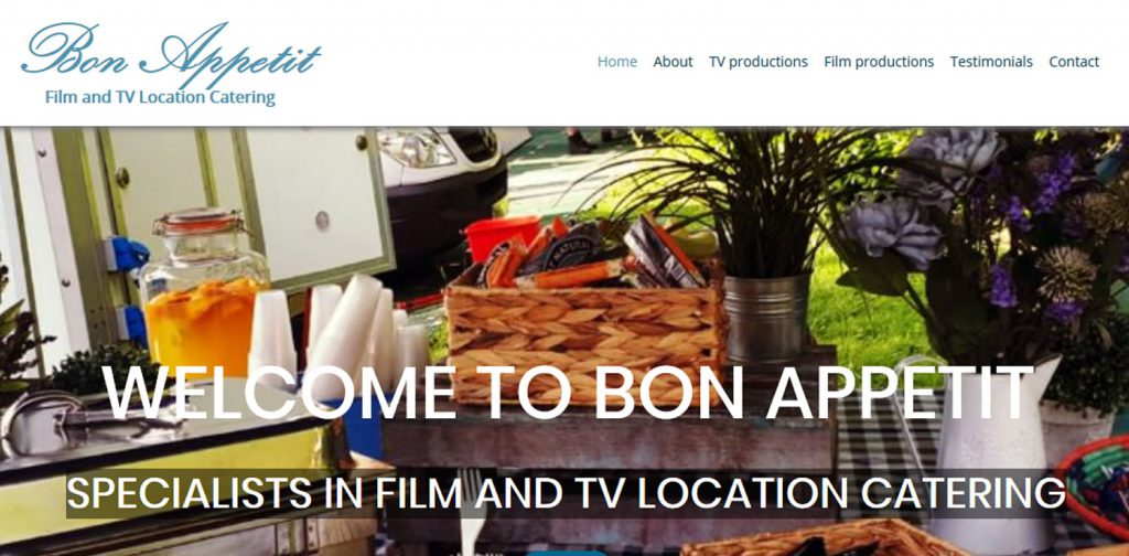 Bon Appetit home page screenshot